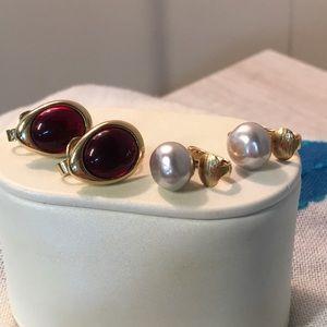 Set of two Avon Clip On Earrings